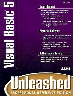 Visual Basic 5 Unleashed  by  Rob Thayer