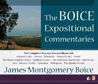 The Boice Expositional Commentaries on CD-ROM  by  James Montgomery Boice