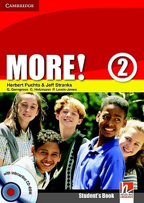 More! Level 2 Students Book with Interactive CD-ROM  by  Herbert Puchta