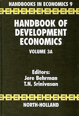 Handbook of Development Economics Volume IIIa  by  J. Behrman