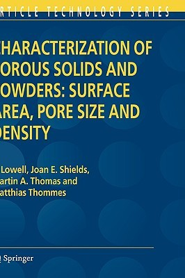 Powder Surface Area and Porosity (Powder Technology series)  by  S. Lowell