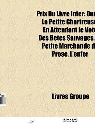 Prix Du Livre Inter Livres Groupe