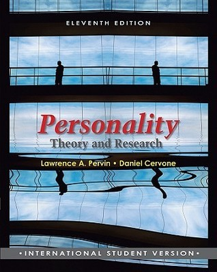 Personality: Theory And Research Daniel Cervone