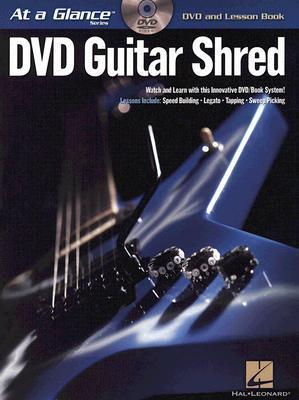 Guitar Shred BK/DVD At a Glance Series DVD and Lesson Book  by  Chad Johnson