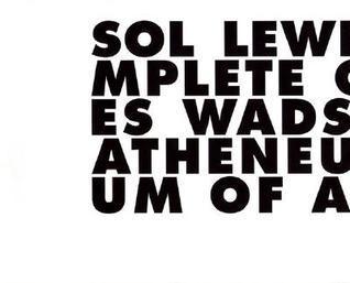Sol LeWitt: Incomplete Open Cubes Nicholas Baume
