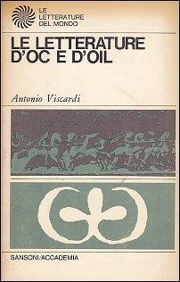 Le letterature doc e doil  by  Antonio Viscardi