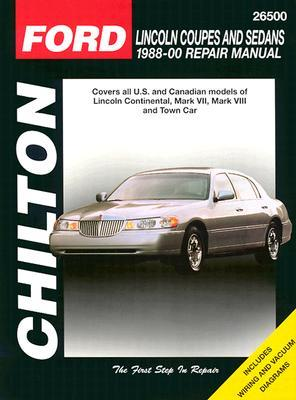 Lincoln Coupes and Sedans, 1988-00 Chilton Book Company