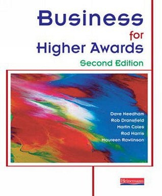 Business For Higher Awards David Needham
