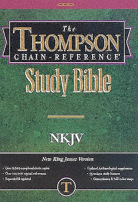 King James Version-Thompson Chain Link Reference Gray Kirkbride Bible & Technology