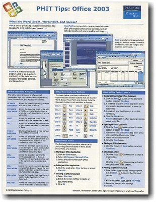 Phit Tips Excel 2003  by  Prentice Hall