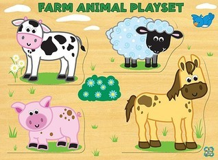Farm Animal Playset  by  Salina Yoon