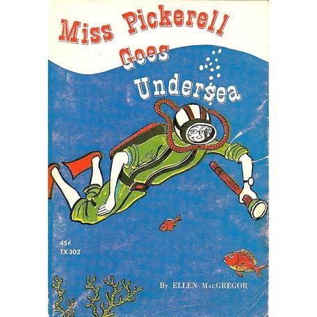Miss Pickerell Goes to Mars Ellen MacGregor 1973 SC