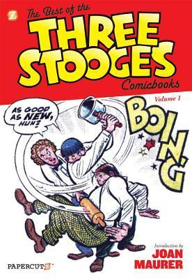 The Best of the Three Stooges Comicbooks  Vol. 1 Norman Maurer