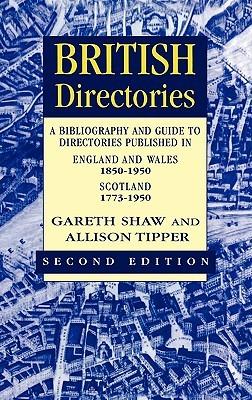 British Directories 2nd ed Gareth Shaw
