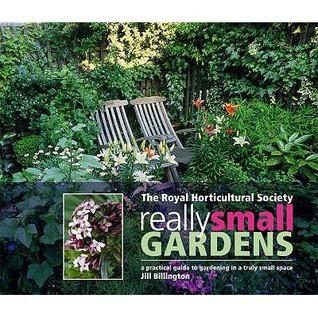 Rhs Really Small Gardens Jill Billington