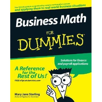 business math problems