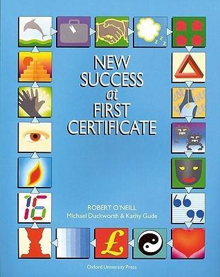 New Success At First Certificate Robert ONeill