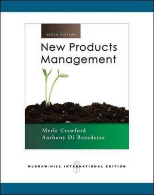 New Products Management.  by  C. Merle Crawford