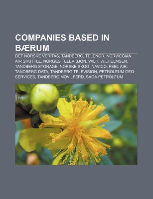 Companies Based In B Rum  by  Books LLC