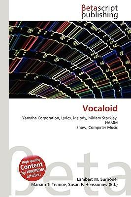 Vocaloid NOT A BOOK