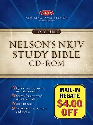 Holy Bible: NKJV Study Bible CD-ROM Anonymous