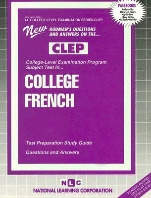 College French  by  National Learning Corporation