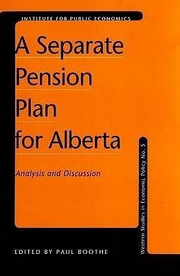 Separate Pension Plan for Alberta Paul  Boothe