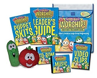 Veggie Tales Kids Worship! Unit 1   Getting To Know God: For Childrens Church Or Large Group Programming  by  Big Idea Inc.
