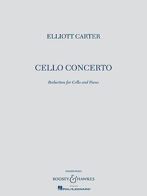 Cello Concerto: Cello and Piano Reduction Elliott Carter