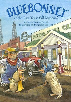 Bluebonnet at the East Texas Oil Museum  by  Mary Brooke Casad
