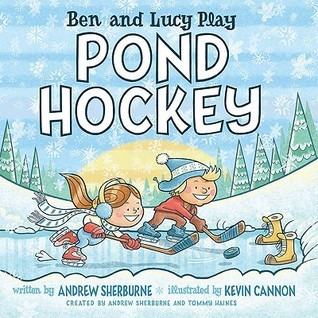 Ben and Lucy Play Pond Hockey Andrew Sherburne