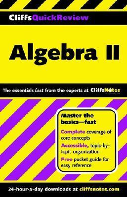 Algebra II  by  CliffsNotes