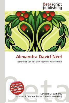 Alexandra David-N El NOT A BOOK