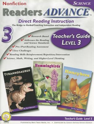 Readers Advance™ Teacher's Guide Level 3 with CD-ROM, Grade 3  by  Mark Twain Media