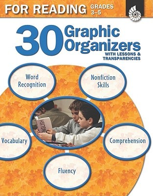 30 Graphic Organizers for Reading, Grades 3-5 [With Transparencies]  by  Christi E. Parker