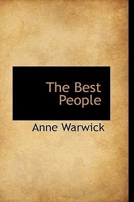 The Best People  by  Anne Warwick