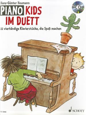 Piano Kids Duet: Fun-Making Piano Pieces for Four Hands  by  Hans-Gunter Heumann