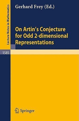 On Artins Conjecture For Odd 2 Dimensional Representations Gerhard  Frey