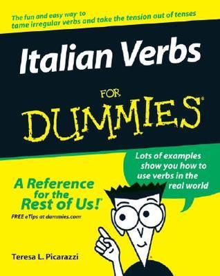 Italian Verbs For Dummies (For Dummies Teresa L. Picarazzi