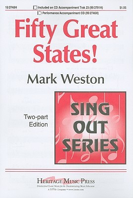 Fifty Great States!: Two-Part Edition  by  Mark Weston