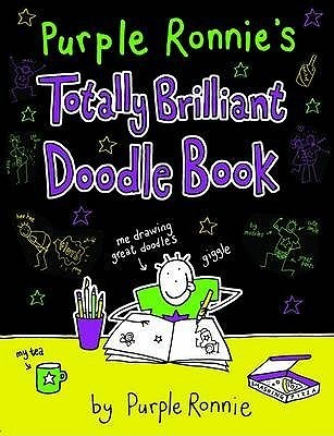 Purple Ronnies Totally Brilliant Doodle Book Purple Ronnie