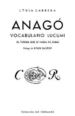 Anago  by  Roger Bastide