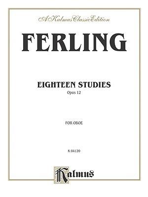 Eighteen Studies, Op. 12  by  Wilhelm Ferling