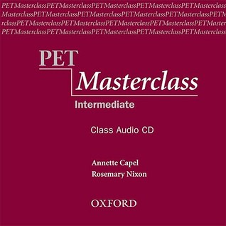Pet Masterclass: Class Audio CD  by  Annette Capel