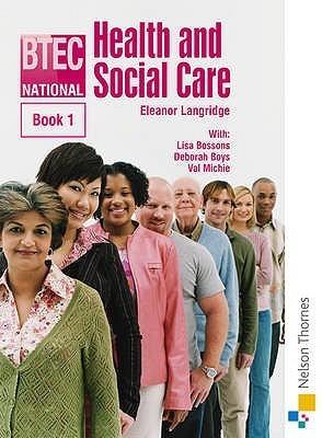 Btec National Health And Social Care Eleanor Langridge