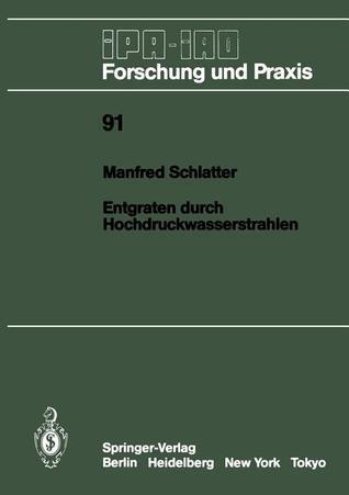 Entgraten Durch Hochdruckwasserstrahlen Manfred Schlatter