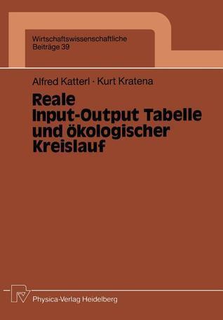 Reale Input-Output Tabelle Und Okologischer Kreislauf Alfred Katterl