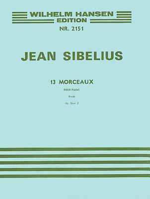 13 Pieces Op. 76, No.2 - Etude: Piano Jean Sibelius