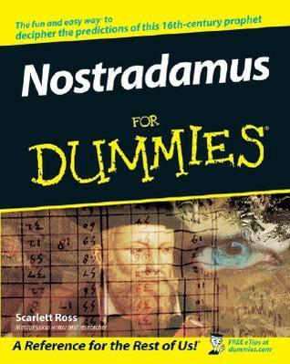Nostradamus For Dummies Scarlett Ross