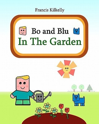 Bo and Blu in the Garden  by  Francis Kilkelly